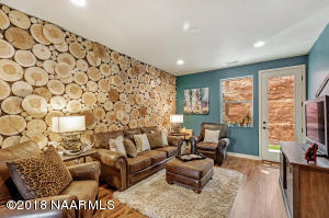 Custom Designer Accent Wall is one of many upgrades in the house