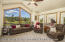 Breathtaking golf course views from Family Room
