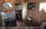 lower level propane stove. Half bath