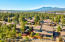 Aerial Rear View with San Francisco Peaks in the distance.
