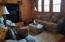 Large, Great Room with Lots of Natural Light, Fireplace, Wood Shutters