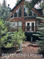A custom cabin in the Pines.