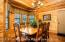 Notice Gorgeous Wood Interior Throughout