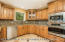 Gorgeous Kitchen w/LED Lighting, GE Profile Stainless Appliances Including a Convection Oven/Microwave