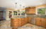 "A Chef's Delight Gourmet Kitchen w/Thomasville ""Coffee-Glazed"" Maple Cabinets"
