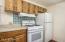 Updated Kitchen w/Gas Range and Refrigerator