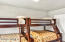 bunk beds in 2nd bedroom of vacation rental