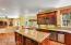 Open Kitchen. Island. Granite Surfaces