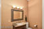 Guest Bathroom close to Family Room.