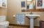 Mancave Half Bathroom