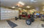 Multi car garage attached to home enter from mancave