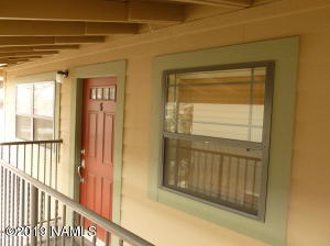 Front Southfacing unit with windows make this light and bright