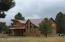 Side of cabin/yard