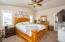 Master bedroom, split floor plan, just off Living room, Lots of space