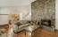 Open Floor Plan with Dining & Kitchen
