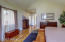 MASTER BEDROOM WITH DIRECT DECK ACCESS