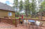 DECK OFF DINING AND MASTER BEDROOM