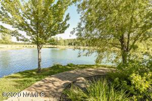Community lake in Foxboro Ranch Estates.