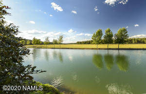 One of the community lakes in Foxboro Ranch Estates