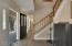 Inviting Front Entry w/Handsome Staircase to Upstairs Bedrooms