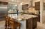 This gourmet chef's kitchen has it all!