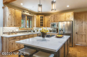 Completely remodeled kitchen with Quartz countertops and large island