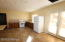 LOWER LEVEL KITCHENETTE WITH DINING SPACE