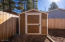 Spacious storage shed
