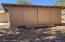 Separate storage/wood shed.