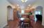 Kitchen/dining area combination
