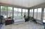 Quality built sunroom. Access to the privacy fenced backyard
