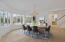 Virtual staged Dining Room