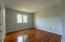 Nicely painted throughout this wonderful 2nd floor bedroom has hardwood floors and offer a jack/jill bathroom.