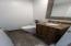1st floor updated half bath