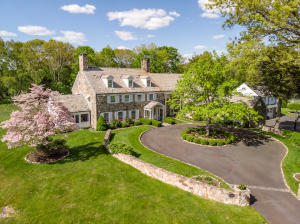 The Pastures: 8,500+ square foot, slate-roofed stone manor estate