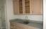 Wonderful Butler's Pantry between Kitchen & Dining Room