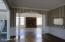 Dining Room with Hardwood Floors opens to Family Room