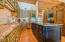 Wolf and Sub-Zero appliances with cabinet finishes