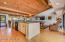 Kitchen and Great Room - Pool House