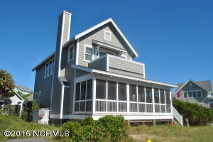 Newly updated Floras Bluff Oceanfront second row cottage/ Steps to one of 5 Private beach accesses. A must see. Easily can be a 3/4 bedroom. Great rental or permanent residence.