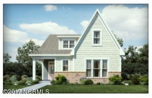 Covered Front and back porch! Owner's suite down plan! 2 car detached garage.