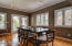 Large Dining Area, completely open to gourmet Kitchen & Great Room