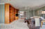 Large 900+ sf Master Suite with custom built-ins