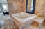 Spacious Master Bath with 2 person jetted tub