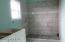 Tiled Shower in 2nd Master