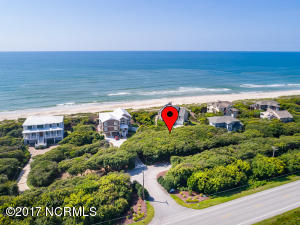 Ocean front back key lot in Beacon's Reach