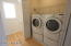 Laundry Closet with Washer/ Dryer