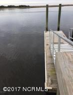 day dock and kayak launch on the ICWW
