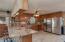 Beautiful kitchen featuring Peaches & Cream granite