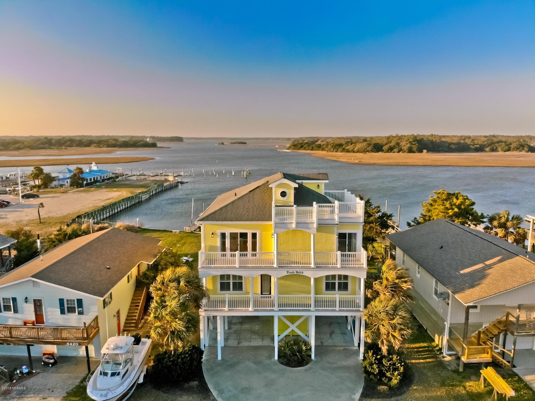 5418 W Dolphin Drive Oak Island, NC 28465